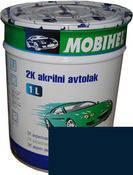 456 Тёмно-синяя автоэмаль акриловая Mobihel, 0,75 л. цена без отвердителя