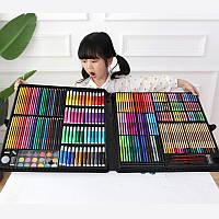 Мега набор для рисования в чемодане Colorful Italy 258 ед. для юных художников