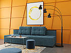 """Модульная раскладной диван в серой влагостойкой ткани """"Елата"""", фото 2"""