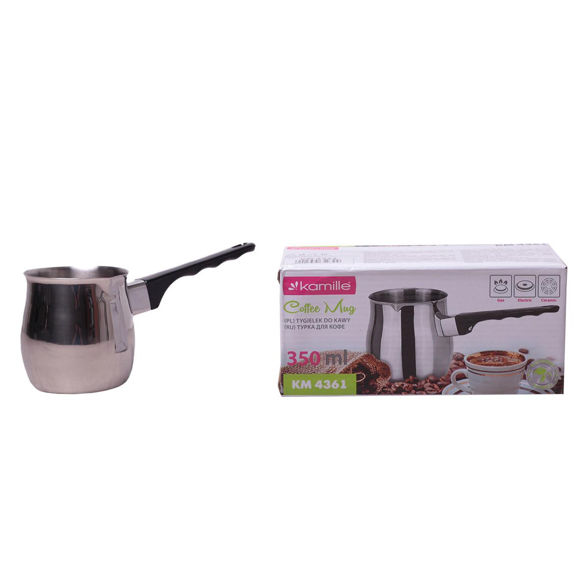 Турка для кофе Kamille 350мл из нержавеющей стали KM-4361