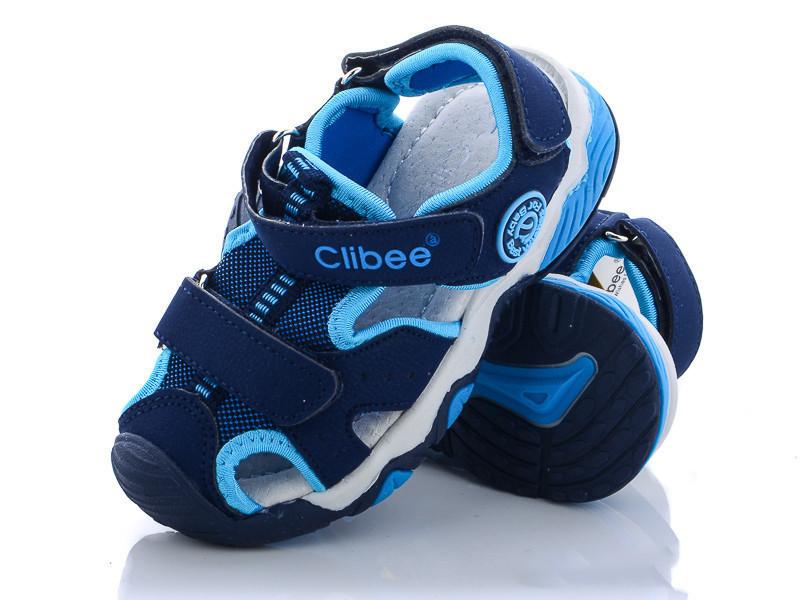 Сандалі дитячі синій колір на липучці розмір 26,29 Київ
