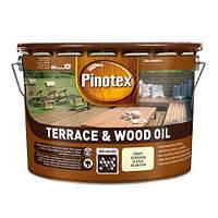 Pinotex Terrace & Wood Oil 10л (Пинотекс Террасное масло для дерева)