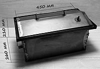 Коптильня з гідрозатворів 2 рівня і піддон 1 мм