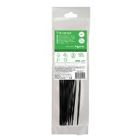 Кабельний хомут (стяжка) 200x4,6 (20 шт.) колір чорний IMT46132