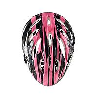 Детский шлем. 4 цвета. Розовый
