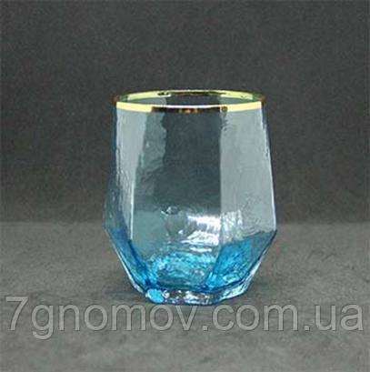 Стакан из цветного стекла Bailey Crystal голубой 450 мл (103-32)