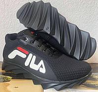 Мужские летние кроссовки сетка легкие Fila 40,41,42,43,44,45, фото 1