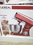 Кухонний комбайн Lexical (3 в 1) 1500 Вт Тістоміс, фото 5