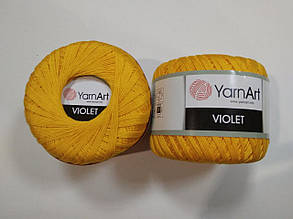Пряжа Виолета(Violet) YarnArt, цвет желтый 5307