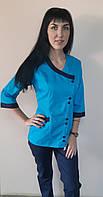 Женский медицинский костюм Китай размер 44,42 три четверти рукав, фото 1