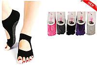 Шкарпетки для йоги без пальчиків S розмір 35-38
