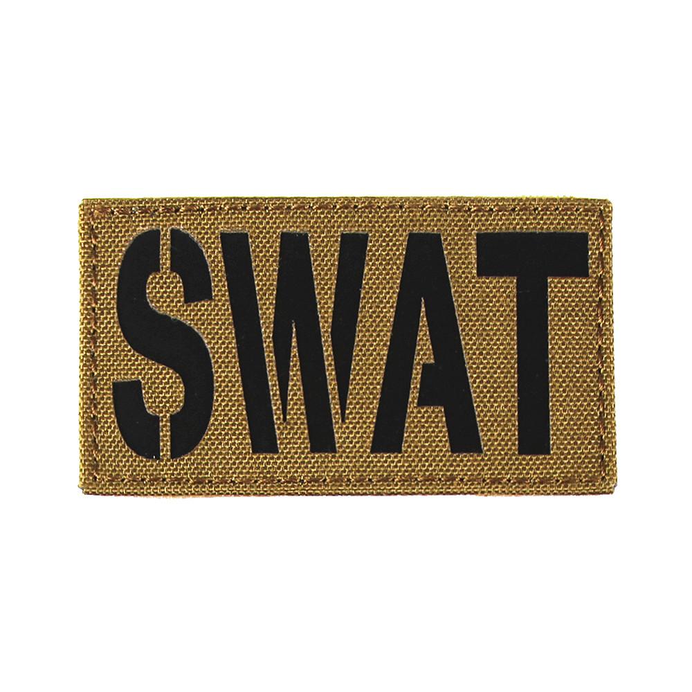 Патч SWAT 45*80 Coyote