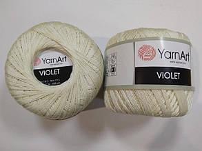 Пряжа Виолета(Violet) YarnArt, цвет шампань 326