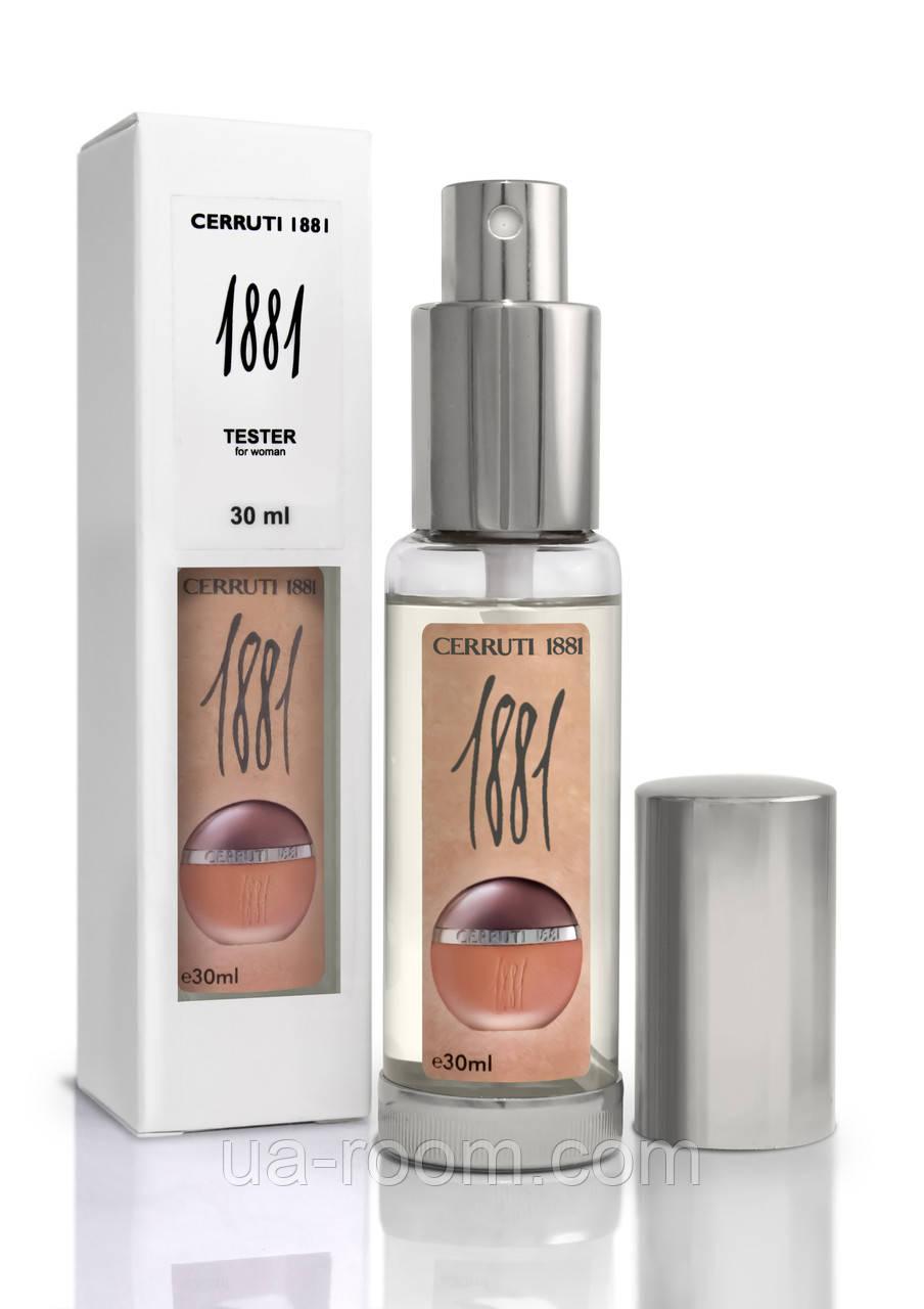 Мини-парфюм женский Cerruti 1881, 30 мл.