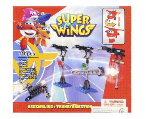 "Конструктор ""Super Wings"" (110 деталей)"