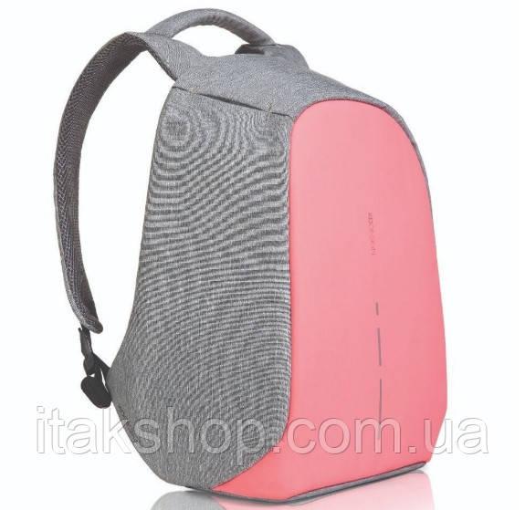 "Рюкзак протикрадій XD Design Bobby Compact 14"" 17л (P705.534) Рожевий"