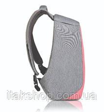 """Рюкзак протикрадій XD Design Bobby Compact 14"""" 17л (P705.534) Рожевий, фото 3"""