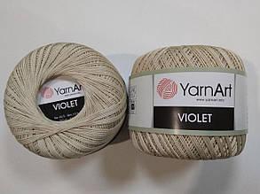 Пряжа Виолета(Violet) YarnArt, цвет бежевый 4660
