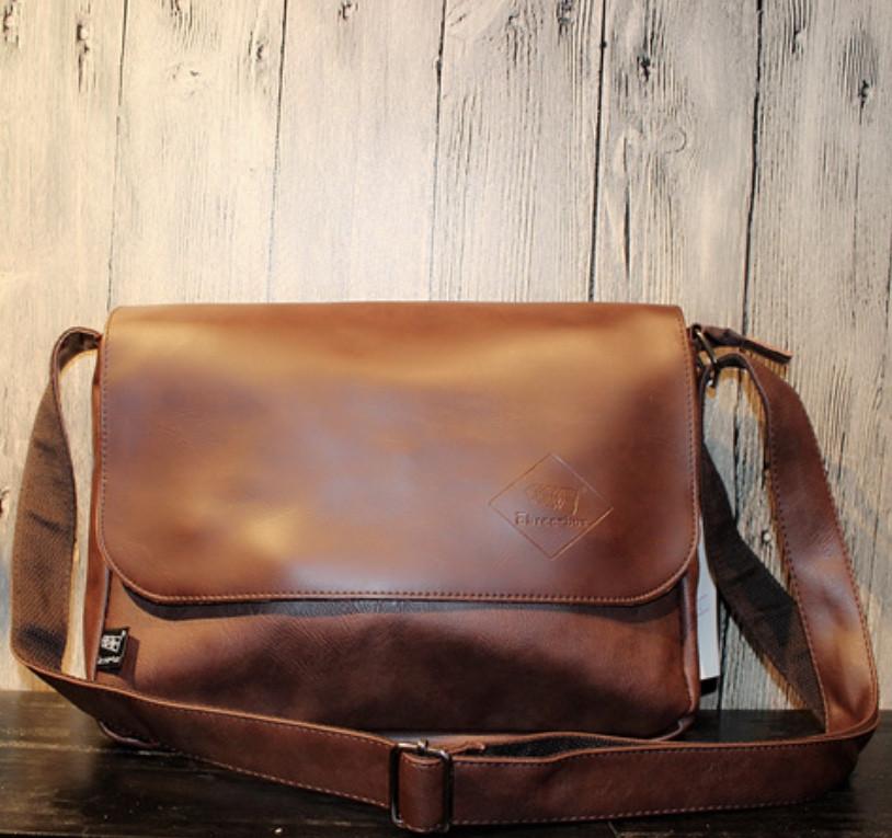 Мужская кожаная сумка. Модель 61350