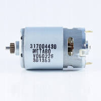 Двигатель шуруповерта 18V Metabo BS 18 317004720 (d 38 L 57 14 зуб)