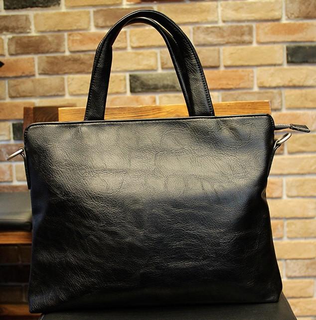 Мужская кожаная сумка. Модель 61351