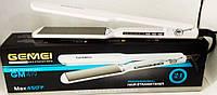 Утюжок для волос с керамическими пластинами и терморегулятором Gemei Gm 419 Hair