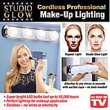 Светодиодная лампа для нанесения макияжа STUDIO GLOW Make-Up Lighting, фото 5