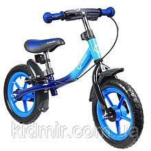 Беговел дитячий синій Lionelo Dan Plus 51822