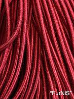 Резинка шляпная круглая 2,5мм/80метров (красная)