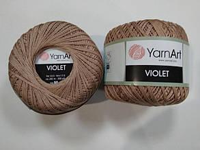 Пряжа Виолета(Violet) YarnArt, цвет бежевый 15