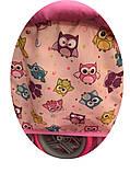 ✅Дитяча прогулянкова коляска для ляльок 9337. Кошик для іграшок, регульована ручка, столик для годування, фото 6