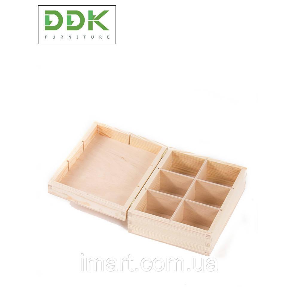 Деревянная шкатулка DBOX2