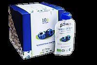 Набір з 10 упаковок чорничної пасти 10*100г, LiQberry
