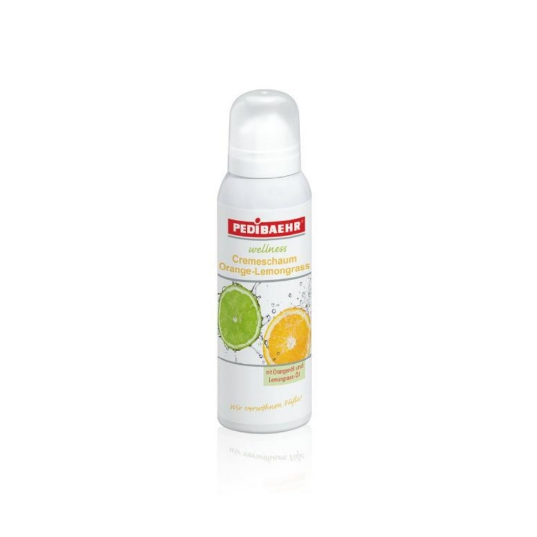 Крем-пена с маслом апельсина и лайма от Baehr, 125 мл