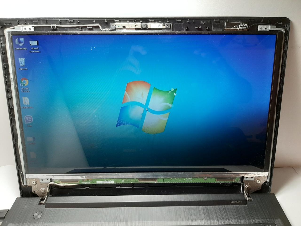 """Б/У  Матрица экран дисплей  LG 15.6"""" LP156WH3 (TP) (S2)  slim 30 pin HD ДЕФЕКТ"""