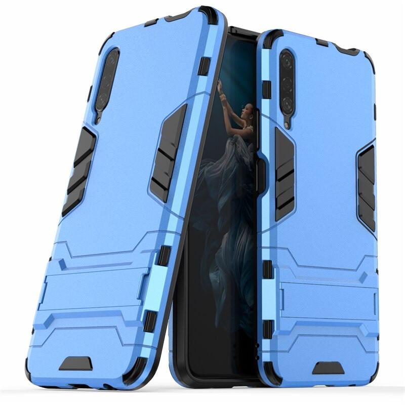 Чохол Hybrid case для Honor 9X China бампер з підставкою блакитний
