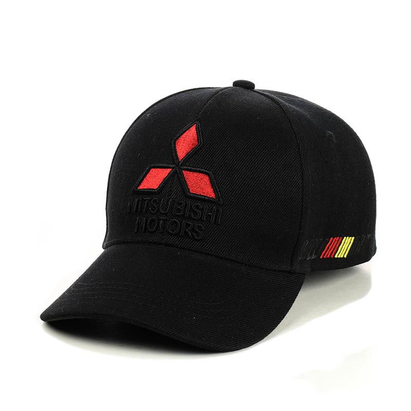 """Бейсболка """"Mitsubishi""""  (три вышивки)"""
