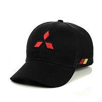 """Бейсболка """"Mitsubishi""""  (три вышивки), фото 1"""