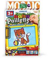 """Мозаика из пайеток """"Baby Paillette: Котёнок"""""""