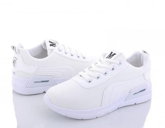 Женские белые кроссовки из плотной сетки MFashion Upeso Tesxo 38 р. - 23 см (1173687649), фото 2