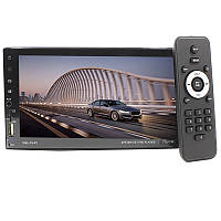 """Автомобильная 2 din магнитола Lesko 7701CM сенсорный экран 7"""" Bluetooth 60 Вт громкая связь"""
