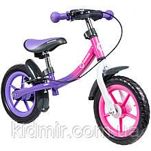 Беговел детский фиолетовый Lionelo Dan Plus 51846