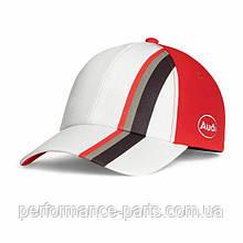 Детская бейсболка Audi heritage Cap, Kids, Offwhite, артикул 3201800100 Официальная коллекция Audi