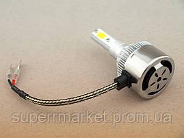 Комплект LED ламп C6 HeadLight H3 12v COB, фото 3