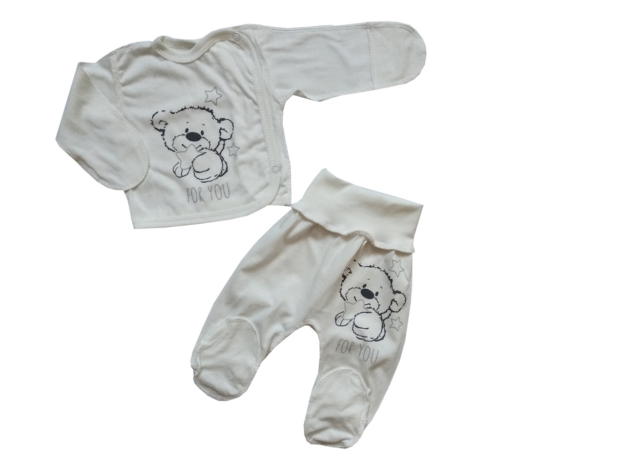 Комплект для новорожденного 2-х предмет. (кулир)