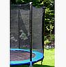 """Детский батут с защитной сеткой Let'sGo 8"""", 244 см + лестница в подарок, фото 2"""