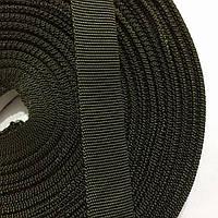 Репсова стрічка 20мм кол хакі (боб 50м) р. 3342 Укр-з