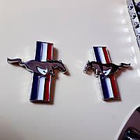 Ford mustang форд мустанг значек шильд украшение эмблема для авто автомобиля или электрогитары Крылья mini