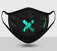 Многоразовая маска для лица FightTheVirus Locked (Size M/L)
