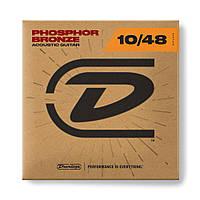 Струни для акустичної гітари DUNLOP DAP1048 Phosphor Bronze Extra Light (10-48)